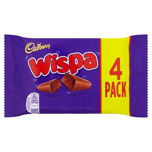 (OUT OF STOCK) Cadbury Wispa 4 Pack