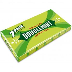 (IN STOCK) Wrigley's DoubleMint Chewing Gum 7 Pack