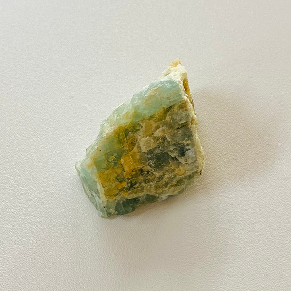 Natural Rough Aquamarine Piece - Calming - De Stress - Inner Peace