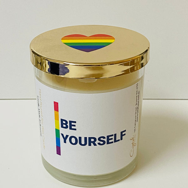 Be Yourself - Natural Soy Wax Candle - Pride Candle