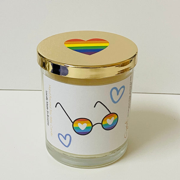 Pride Sunglasses - Natural Soy Wax Candle - Pride Candle
