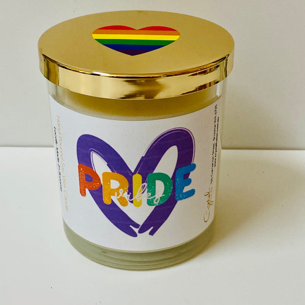 Pride Vibes - Natural Soy Wax Candle - Pride Candle