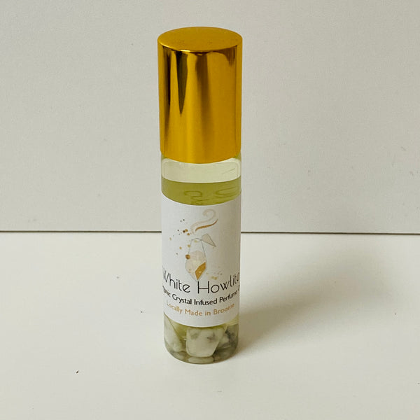 Organic Howlite Perfume Oil - Calming - Reduce Stress - Confidence