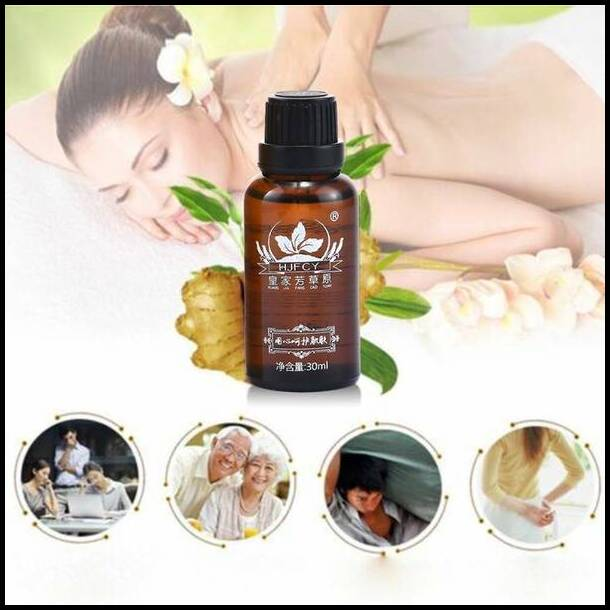 The Most Effective Lymphatic Drainage Ginger Oil!