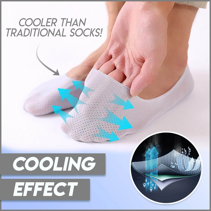 Breathable Ice Silk Socks