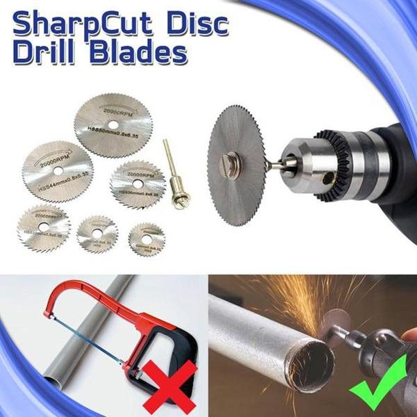 Disc Drill Blades and Mandrel