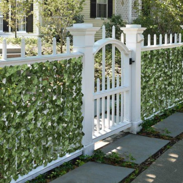 Expandable Faux Privacy Fence