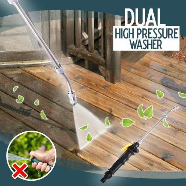 Dual High-Pressure Washer Tool