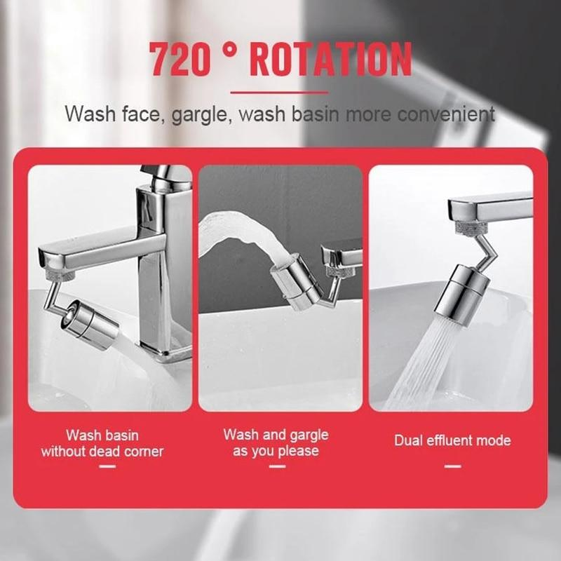720 Degree Swivel Sink Faucet Aerator