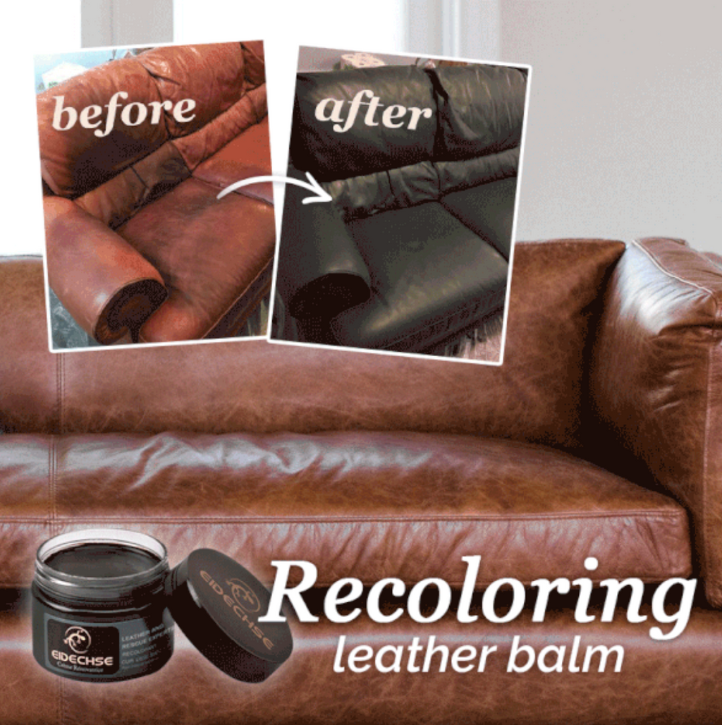 Leather Recoloring Balm EASY AND ENJOYABLE TO USE