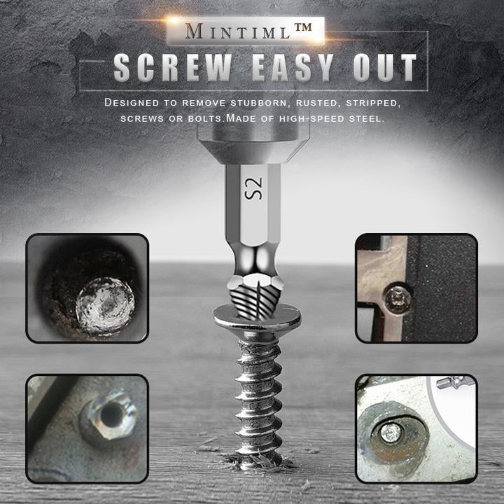 Easy Screw Extractor (4 Pcs)