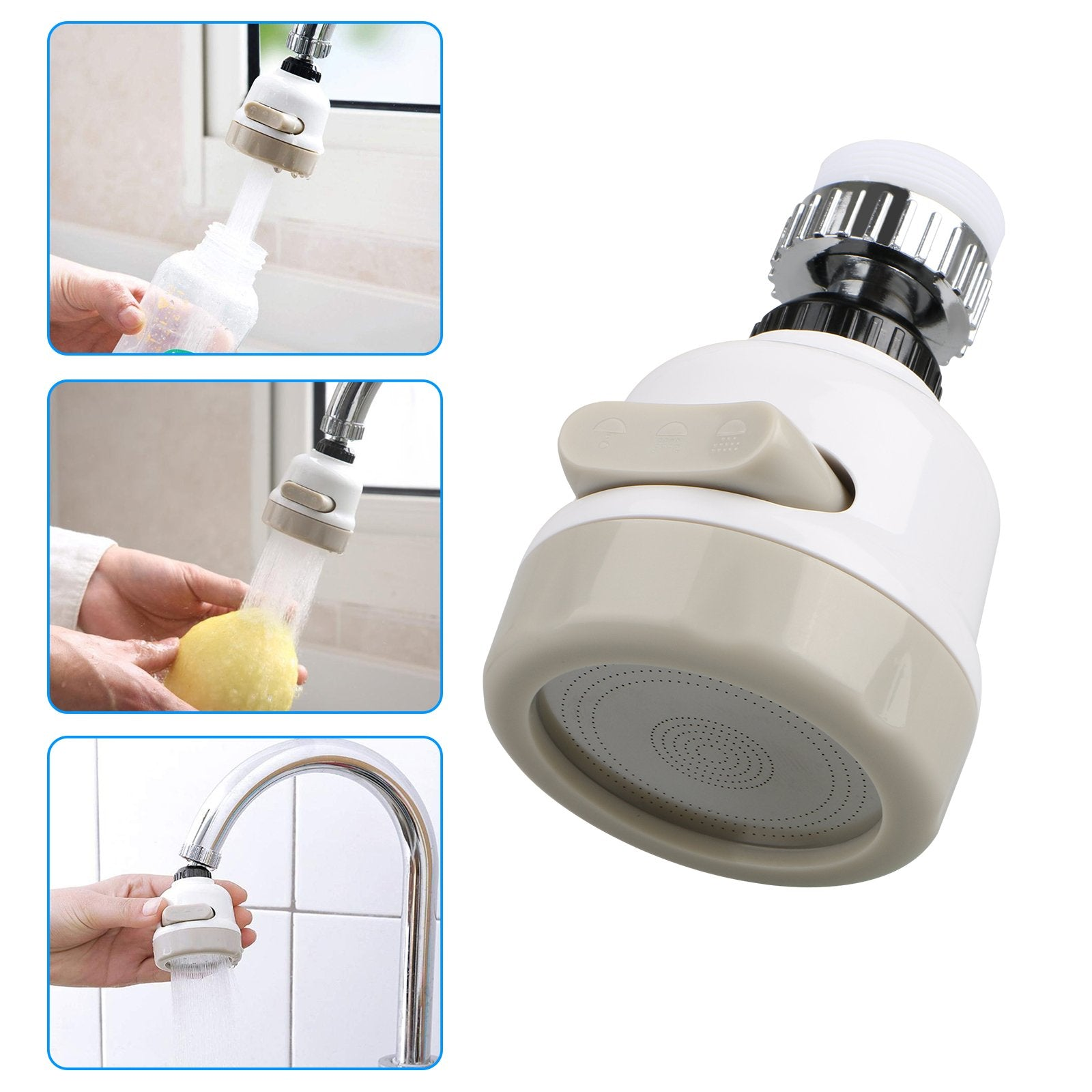 Water-Saving 360° Rotating Kitchen Tap