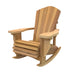 "Red Cedar 2 Inch Muskoka Chair Rocker with 7.5"" Arm"