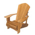 "Red Cedar 1 Inch Muskoka Chair with 7.5"" Arm"