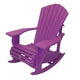 "Premium Embossed Muskoka Chair Rocker with 7.5"" Arm"