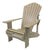 "Recycled Plastic 3/4 Inch Muskoka Chair with 5.5"" Arm"
