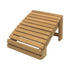 Cedar Slanted Foot Rest