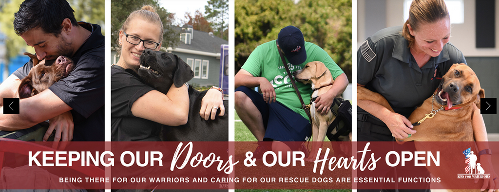 K9 Warriors give back to veterans and provide dogs for more than PTSD