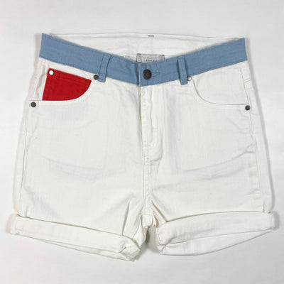 Stella McCartney Kids denim color block shorts Second Season 14Y+ 1