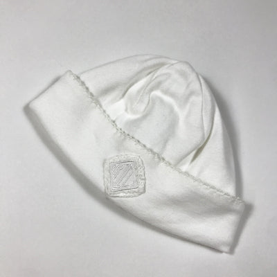 Ralph Lauren white newborn hat one size