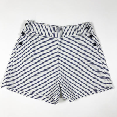 Les Petits Carreaux striped sailor shorts 2Y