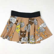 Mini Rodini cheer cat skirt pink 80-86