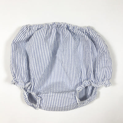 Petit Bateau blue and white striped bloomers 1M/54