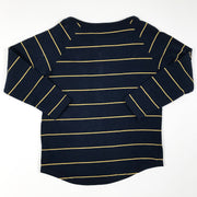 Ebbe blue and yellow long-sleeved buttoned t-shirt 92