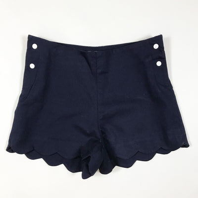 Jacadi navy scalloped shorts 4A/104