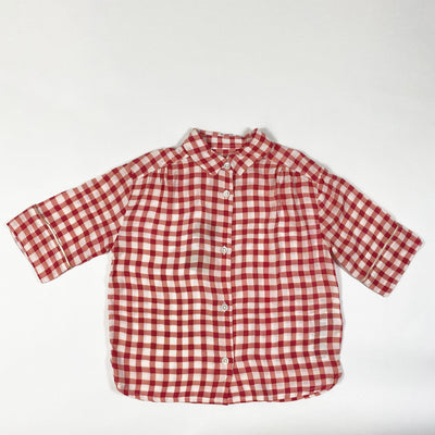 Bellerose gingham blouse Second Season diff. sizes
