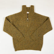 "Simple Kids ginger half-zip alpaca knit jumper ""Mira"" Second Season diff. sizes"