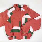 The Animals Observatory red geometric Falcon jacket  Second Season diff. sizes