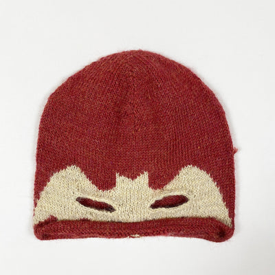 Oeuf NYC red bat knit hat Second Season 2-4Y
