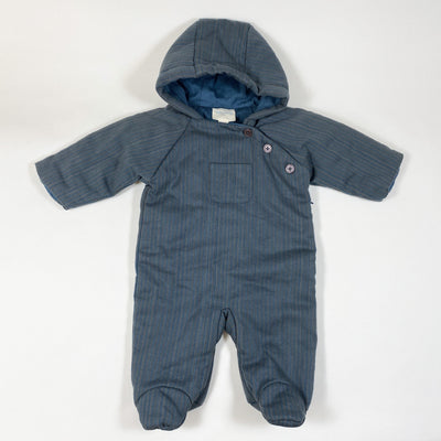 Louis Louise carbon/blue striped Pilot Craie padded overall Second Season 1-3M