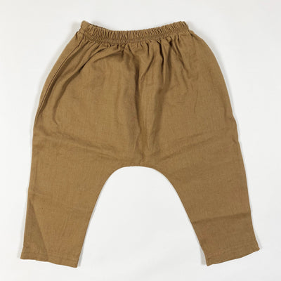 Rylee + Cru caramel harem pants Second Season 6-12M