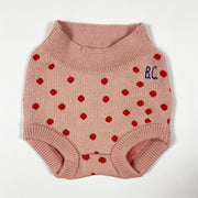 Bobo Choses pink red dot bloomers Second Season 24-36M