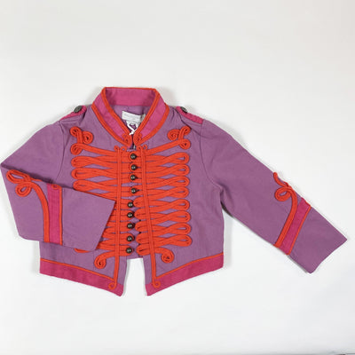 Stella McCartney Kids purple braided military jacket Second Season diff. sizes