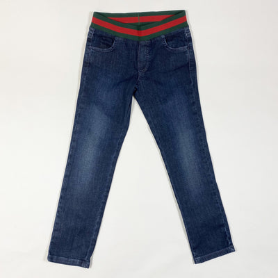 Gucci Kids slim dark blue stretch jeans 5Y