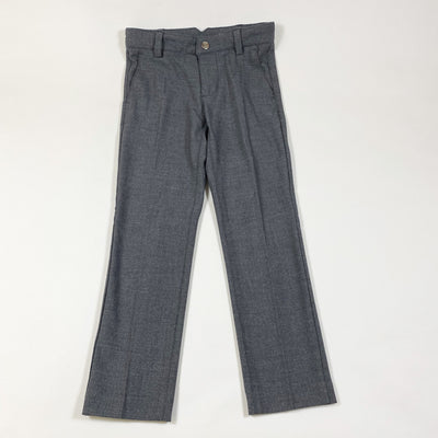 Jacadi dark grey straight fine wool mix lined trousers 6Y/116cm