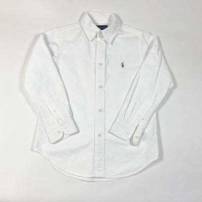 Ralph Lauren white button down shirt 6Y