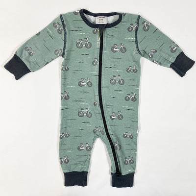 Maxomorra bicycle print jumpsuit 62/68