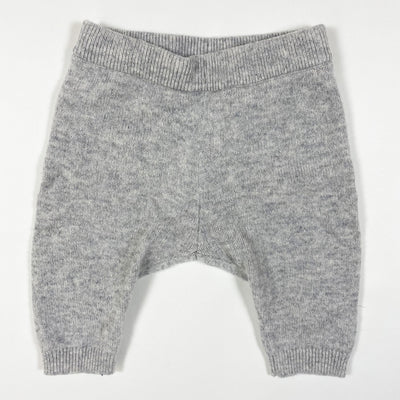 H&M light grey cashmere trousers 1-2M/56