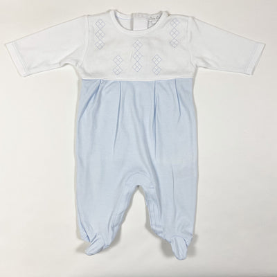 Kissy Kissy two-tone embroidered pyjamas 0-3M