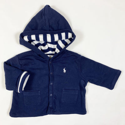 Ralph Lauren navy hooded lined jacket 3M