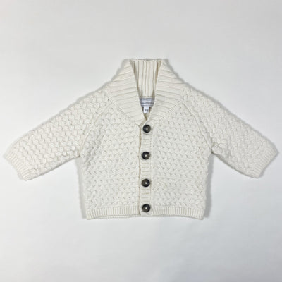 Tartine et Chocolat off-white knit cardigan 3M