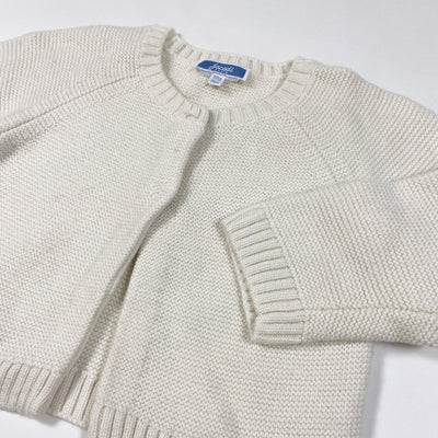 Jacadi cream knit wool mix cardigan 12M/74cm