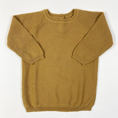 Konges Slojd camel knit jumper 80-86