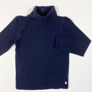 Jacadi navy turtleneck shirt 4A/104