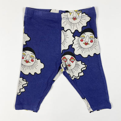 Mini Rodini clown print leggings 56/62