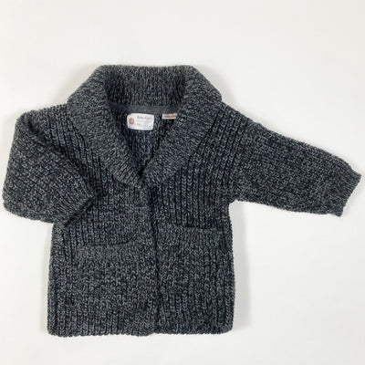Zara grey heavy knit cardigan 18-24M/92